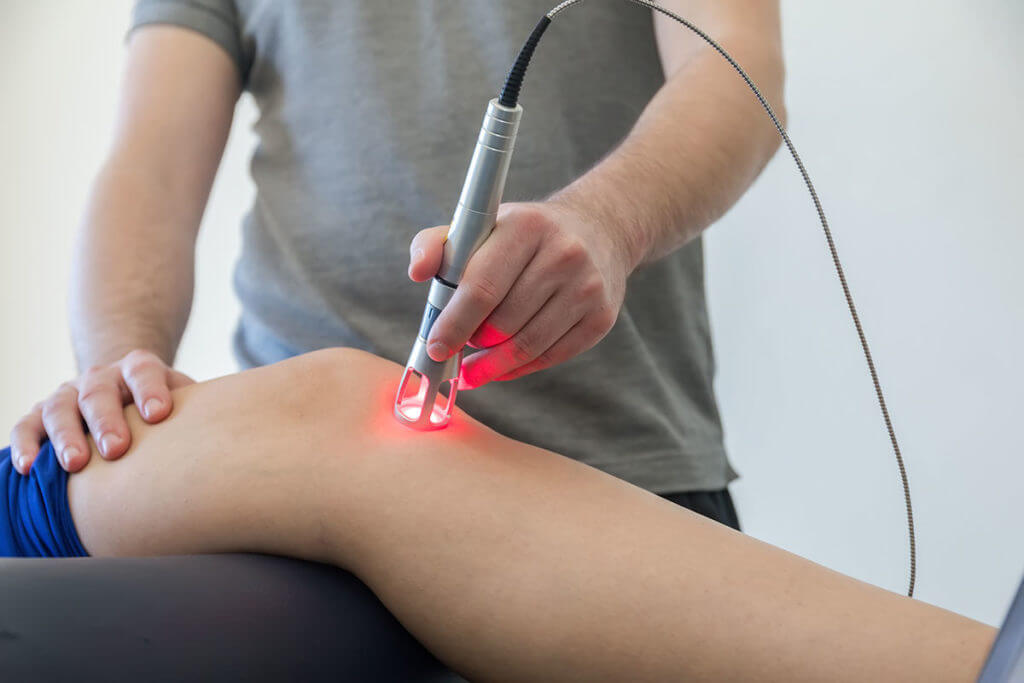 Treating Chronic Pain with Laser Therapy